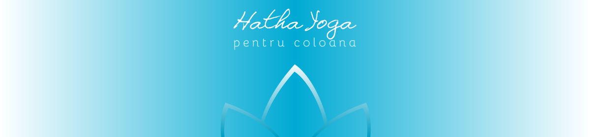 banner hatha yoga pentru coloana