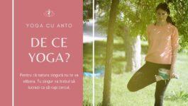 Postura yoga in nautra