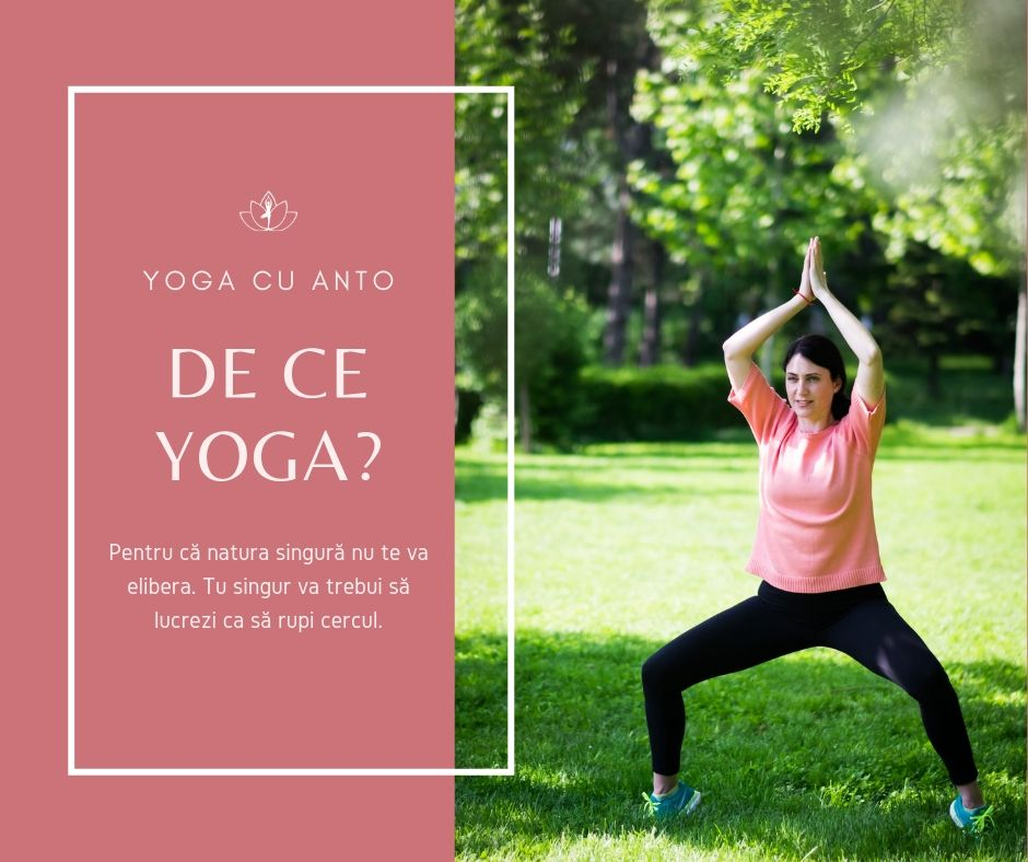 postura yoga in natura