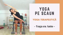 postura speciala yoga pe scaun
